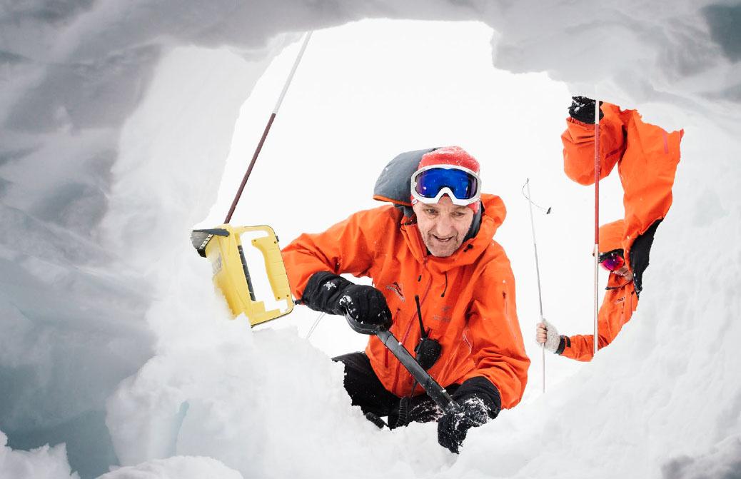 Bernd Zehetleitner, certifikovaný horský a lyžiarsky vodca a člen Bavorskej horkej stráže