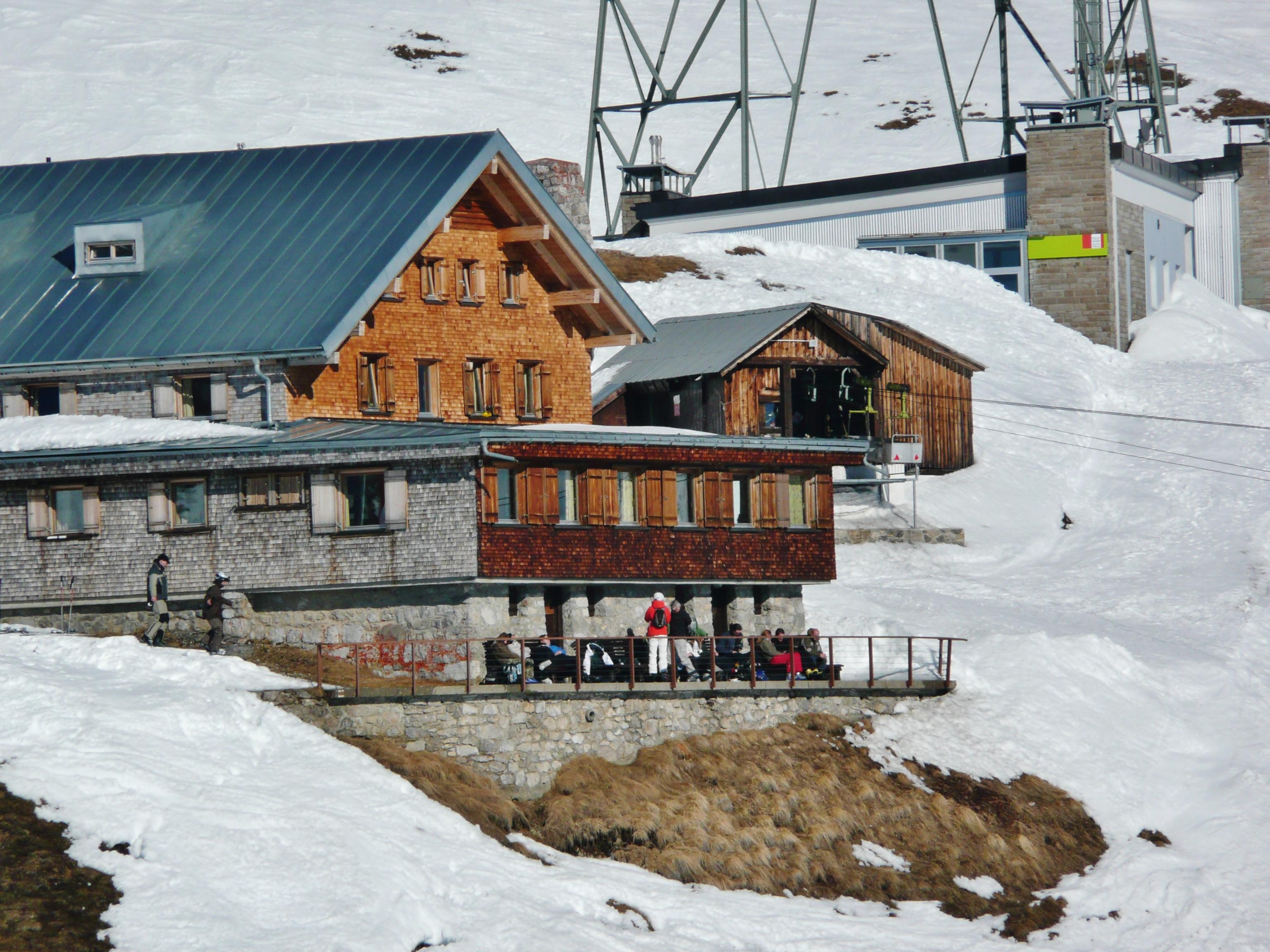 Ulmer hutte - alpenverein