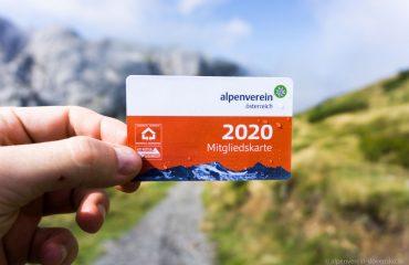Alpenverein preukaz karta na rok 2020